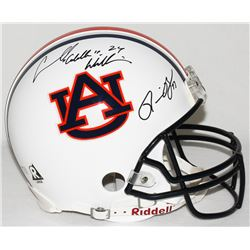 """Ronnie Brown  Carnell """"Cadillac"""" Williams Signed Auburn Full-Size Authentic Pro-Line Helmet (Radtke"""