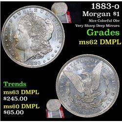 1883-o Morgan Dollar $1 Grades Select Unc DMPL