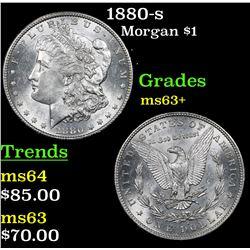 1880-s Morgan Dollar $1 Grades Select+ Unc