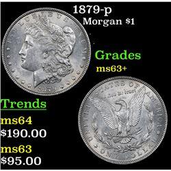 1879-p Morgan Dollar $1 Grades Select+ Unc