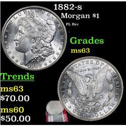 1882-s Morgan Dollar $1 Grades Select Unc