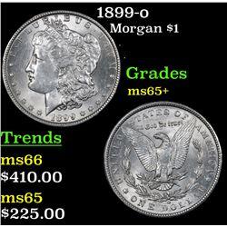 1899-o Morgan Dollar $1 Grades GEM+ Unc