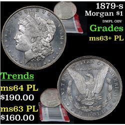 1879-s Morgan Dollar $1 Grades Select Unc+ PL