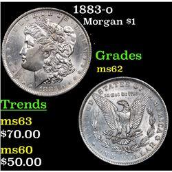 1883-o Morgan Dollar $1 Grades Select Unc