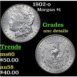 1902-o Morgan Dollar $1 Grades Unc Details