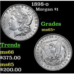 1898-o Morgan Dollar $1 Grades GEM+ Unc