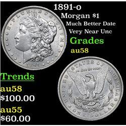1891-o Morgan Dollar $1 Grades Choice AU/BU Slider