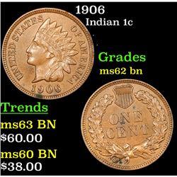 1906 Indian Cent 1c Grades Select Unc BN