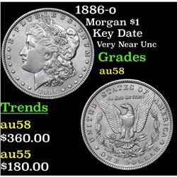 1886-o Morgan Dollar $1 Grades Choice AU/BU Slider