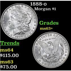 1888-o Morgan Dollar $1 Grades Select+ Unc