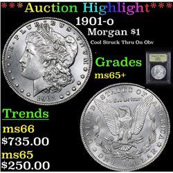 ***Auction Highlight*** 1901-o Morgan Dollar $1 Graded GEM+ Unc By USCG (fc)