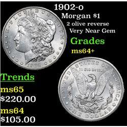 1902-o Morgan Dollar $1 Grades Choice+ Unc