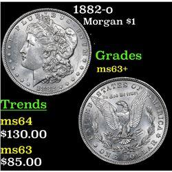 1882-o Morgan Dollar $1 Grades Select+ Unc