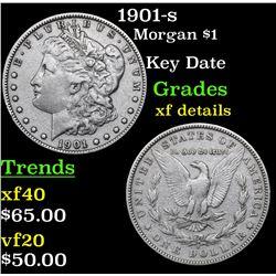 1901-s Morgan Dollar $1 Grades xf details