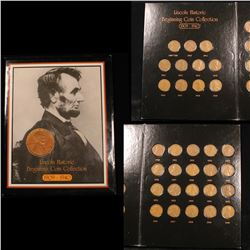 Complete Lincoln cent book 1909-1940 31 coins . .