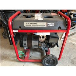 PORTER CABLE 5200 W GENERATOR
