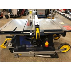 MASTERCRAFT TABLE SAW WITH LASER SIGHT