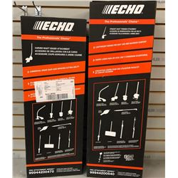 ECHO TRIMMER / EDGER ATTACHMENTS - NEW