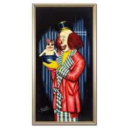 Red Clown by Crionas (1925-2004)