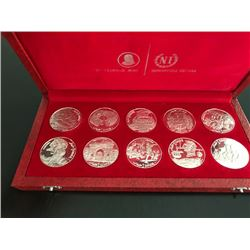 Franklin Mint Set from Italy