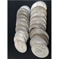 Franklin 50 Cent Pieces