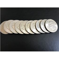 10 1972 Ike Dollars Uncirculated