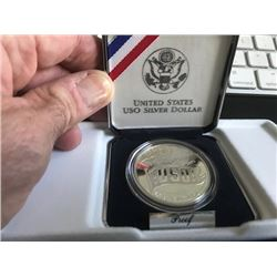 USO Silver Dollar Proof
