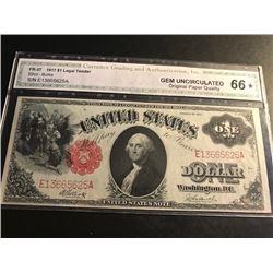 1917 $1 Legal Tender