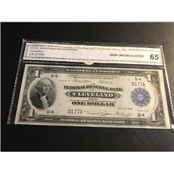 1918 $1 Fed Reserve Bank Note