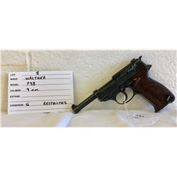 WALTHER, MODEL P 38, 9 MM