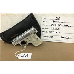 BROWNING, MODEL BABY BROWNING, 6.35 MM