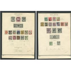 Great Britain 1883-92 Victoria Stamp Collection