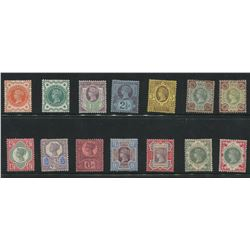 Great Britain 1887-1900 MLH Jubilee Stamp Collection