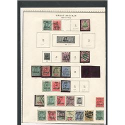 Great Britain 1902-04 Stamp Collection