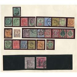 Great Britain 1902-11 Edward VII Stamp Collection 1