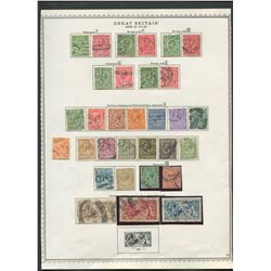 Great Britain 1911-22 Stamp Collection