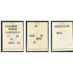 Great Britain 1914-59 Postage Due Stamp Collection