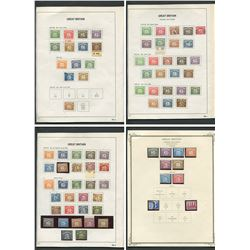 Great Britain 1914-71 Postage Due Stamp Collection