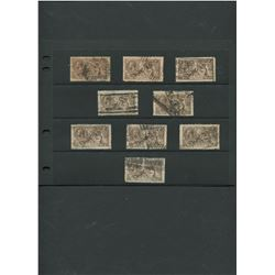 Great Britain 1919 #179 a91 2sh 6p Collection