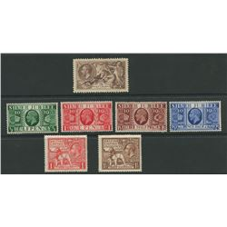 Great Britain 1919-35 Mint Stamp Collection