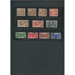 Great Britain 1919-35 Stamp Collection