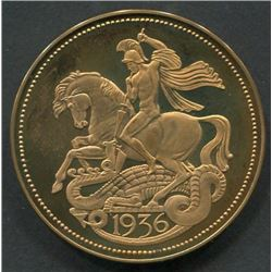 Great Britain 1936 Edward VIII Gold Proof Souvenir