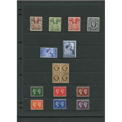 Great Britain 1937-42 Mint Stamp Collection