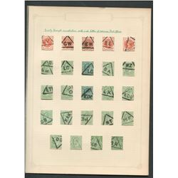 Great Britain Early Triangle Cancels