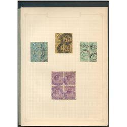 Great Britain Edward VII Blocks