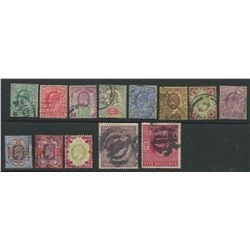 Great Britain Edward VII Stamp Collection 1