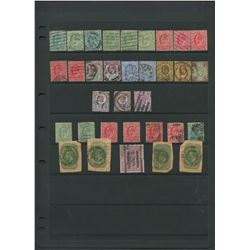 Great Britain Edward VII Stamp Collection 13