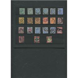 Great Britain Edward VII Stamp Collection 14