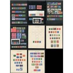 Great Britain Elizabeth and George VI Stamp Collection