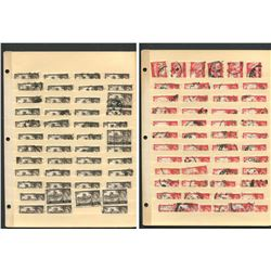"Great Britain Elizabeth II ""Castles"" Stamp Collection"